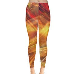 Abstract Shiny Night Lights 13 Leggings  by tarastyle