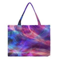 Abstract Shiny Night Lights 14 Medium Tote Bag by tarastyle
