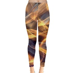 Abstract Shiny Night Lights 19 Leggings  by tarastyle