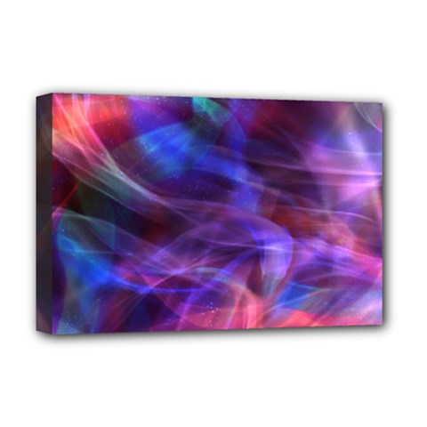 Abstract Shiny Night Lights 20 Deluxe Canvas 18  X 12   by tarastyle