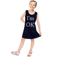 I Am Ok   Broken Kids  Tunic Dress