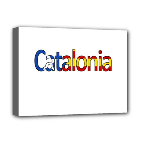 Catalonia Deluxe Canvas 16  X 12   by Valentinaart