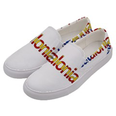 Catalonia Men s Canvas Slip Ons by Valentinaart