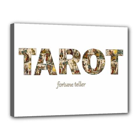Tarot Fortune Teller Canvas 16  X 12  by Valentinaart