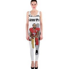 National Anthem Protest Onepiece Catsuit by Valentinaart