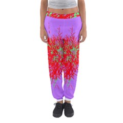 Spot Paint Red Green Purple Sexy Women s Jogger Sweatpants by AnjaniArt