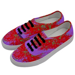 Spot Paint Red Green Purple Sexy Men s Classic Low Top Sneakers by AnjaniArt