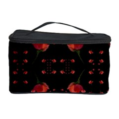 Roses From The Fantasy Garden Cosmetic Storage Case by pepitasart