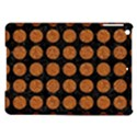 CIRCLES1 BLACK MARBLE & RUSTED METAL (R) iPad Air Hardshell Cases View1