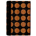 CIRCLES1 BLACK MARBLE & RUSTED METAL (R) iPad Air Flip View4
