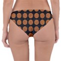 CIRCLES1 BLACK MARBLE & RUSTED METAL (R) Reversible Hipster Bikini Bottoms View4