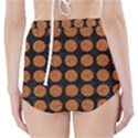 CIRCLES1 BLACK MARBLE & RUSTED METAL (R) High-Waisted Bikini Bottoms View2