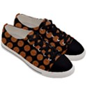 CIRCLES1 BLACK MARBLE & RUSTED METAL (R) Men s Low Top Canvas Sneakers View3