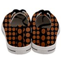CIRCLES1 BLACK MARBLE & RUSTED METAL (R) Men s Low Top Canvas Sneakers View4
