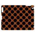 CIRCLES2 BLACK MARBLE & RUSTED METAL Apple iPad 3/4 Hardshell Case View1