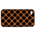 CIRCLES2 BLACK MARBLE & RUSTED METAL Apple iPhone 4/4S Hardshell Case (PC+Silicone) View1