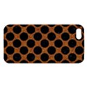 CIRCLES2 BLACK MARBLE & RUSTED METAL Apple iPhone 5 Premium Hardshell Case View1