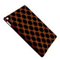 CIRCLES2 BLACK MARBLE & RUSTED METAL iPad Air 2 Hardshell Cases View5