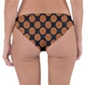 CIRCLES2 BLACK MARBLE & RUSTED METAL (R) Reversible Hipster Bikini Bottoms View4