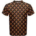 CIRCLES3 BLACK MARBLE & RUSTED METAL Men s Cotton Tee View1