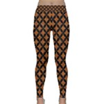 CIRCLES3 BLACK MARBLE & RUSTED METAL Classic Yoga Leggings