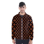 CIRCLES3 BLACK MARBLE & RUSTED METAL Wind Breaker (Men)