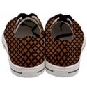 CIRCLES3 BLACK MARBLE & RUSTED METAL Men s Low Top Canvas Sneakers View4