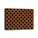 CIRCLES3 BLACK MARBLE & RUSTED METAL (R) Mini Canvas 7  x 5  View1