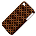CIRCLES3 BLACK MARBLE & RUSTED METAL (R) Apple iPhone 4/4S Hardshell Case (PC+Silicone) View4