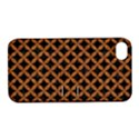 CIRCLES3 BLACK MARBLE & RUSTED METAL (R) Apple iPhone 4/4S Hardshell Case with Stand View1