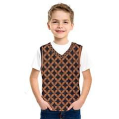 Circles3 Black Marble & Rusted Metal (r) Kids  Sportswear