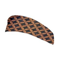 CIRCLES3 BLACK MARBLE & RUSTED METAL (R) Stretchable Headband