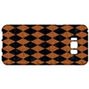 DIAMOND1 BLACK MARBLE & RUSTED METAL Samsung Galaxy S8 Plus Hardshell Case  View1