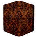 DAMASK1 BLACK MARBLE & RUSTED METAL Apple iPad Mini Flip Case View4