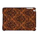 DAMASK1 BLACK MARBLE & RUSTED METAL Apple iPad Mini Hardshell Case (Compatible with Smart Cover) View1