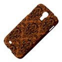 DAMASK1 BLACK MARBLE & RUSTED METAL Samsung Galaxy S4 I9500/I9505 Hardshell Case View4