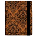 DAMASK1 BLACK MARBLE & RUSTED METAL Samsung Galaxy Tab 7  P1000 Flip Case View2