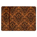 DAMASK1 BLACK MARBLE & RUSTED METAL Samsung Galaxy Tab 10.1  P7500 Flip Case View1