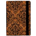 DAMASK1 BLACK MARBLE & RUSTED METAL iPad Air 2 Flip View2