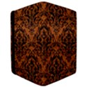 DAMASK1 BLACK MARBLE & RUSTED METAL iPad Air 2 Flip View3