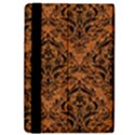 DAMASK1 BLACK MARBLE & RUSTED METAL iPad Air 2 Flip View4