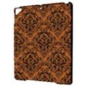 DAMASK1 BLACK MARBLE & RUSTED METAL Apple iPad Pro 9.7   Hardshell Case View3