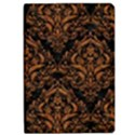 DAMASK1 BLACK MARBLE & RUSTED METAL (R) iPad Air 2 Flip View1