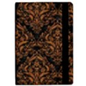 DAMASK1 BLACK MARBLE & RUSTED METAL (R) iPad Air 2 Flip View2