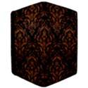 DAMASK1 BLACK MARBLE & RUSTED METAL (R) iPad Air 2 Flip View3