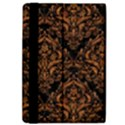 DAMASK1 BLACK MARBLE & RUSTED METAL (R) iPad Air 2 Flip View4