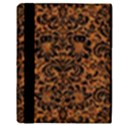 DAMASK2 BLACK MARBLE & RUSTED METAL Apple iPad 3/4 Flip Case View3