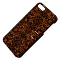 DAMASK2 BLACK MARBLE & RUSTED METAL Apple iPhone 5 Hardshell Case with Stand View4