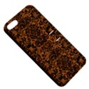 DAMASK2 BLACK MARBLE & RUSTED METAL Apple iPhone 5 Hardshell Case with Stand View5