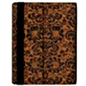 DAMASK2 BLACK MARBLE & RUSTED METAL Samsung Galaxy Tab 10.1  P7500 Flip Case View2